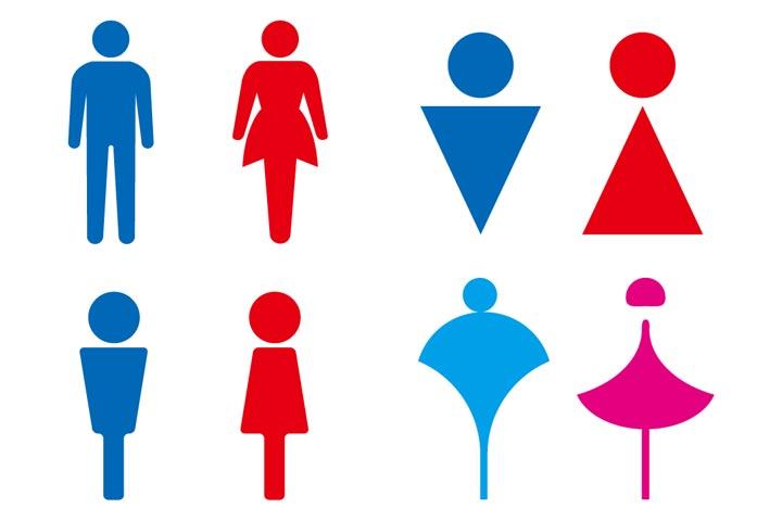 男女のシンボルマーク